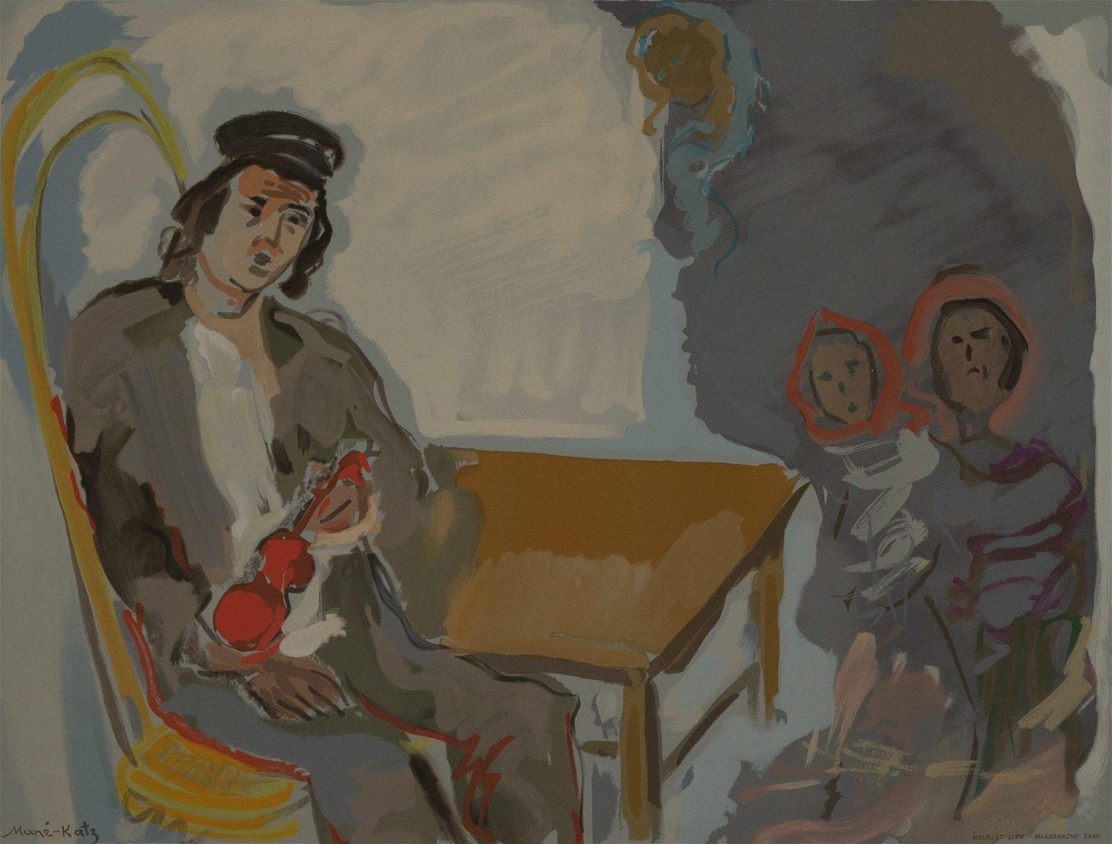 Emmanuel Mane-Katz - Untitled 9