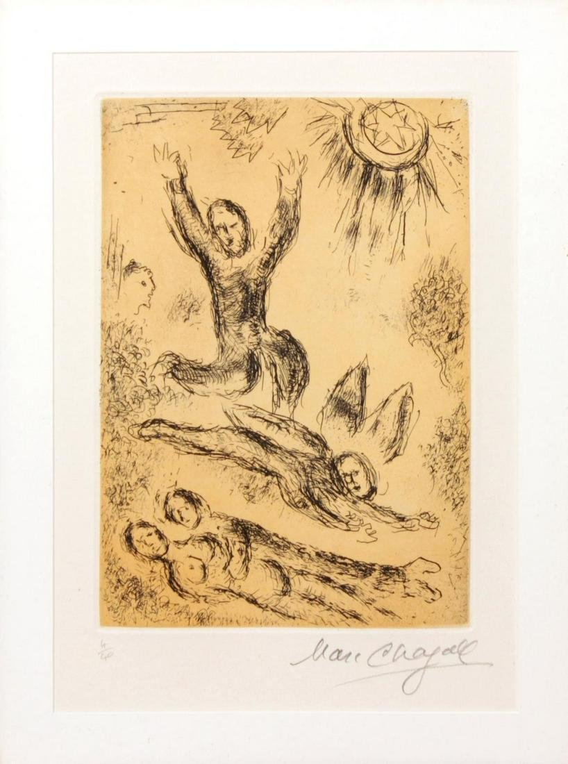 Marc Chagall - Psaume 25