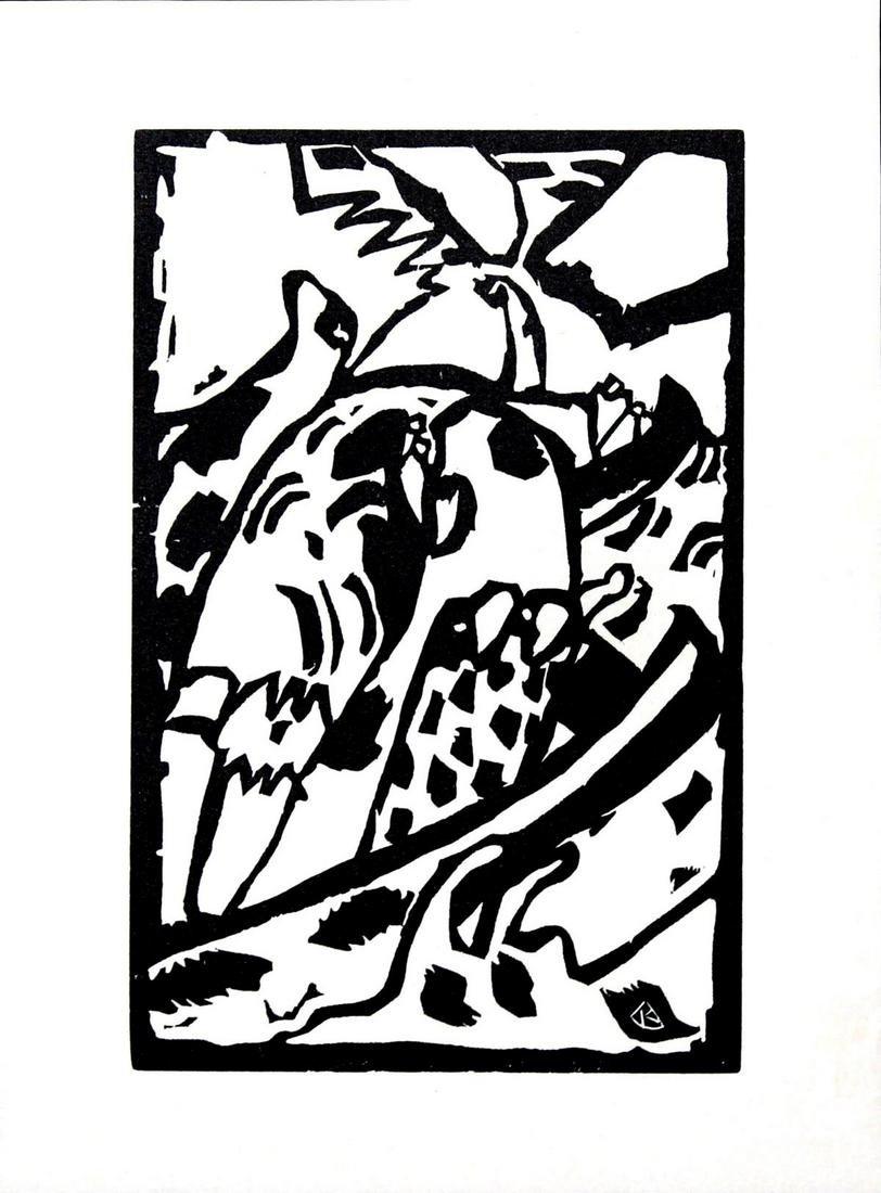 Wassily Kandinsky - Untitled