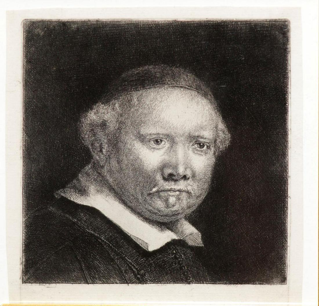 Rembrandt van Rijn  - Lieveb Willemsz van Coppenol
