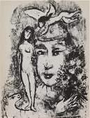 Marc Chagall - The White Clown