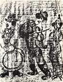 Marc Chagall  Wandering Musicians