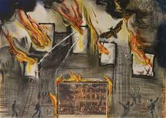 Salvador Dali  Fire Fire Fire