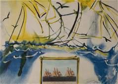 Salvador Dali  American Yacht Races