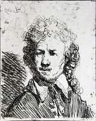 Rembrandt van Rijn (After) - Self Portrait