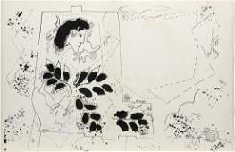 Marc Chagall (After) - Composition