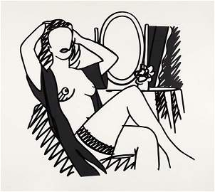 Tom Wesselman - Nude and Mirror