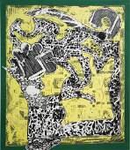 Frank Stella (after) - Green Journal