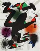 Joan Miro - Lithographie Originale IV