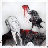 Mr. Brainwash - iHitchcock (Red)