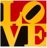 Robert Indiana - LOVE, Yellow, Red & Black
