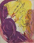 Marc Chagall  Angel of Paradise