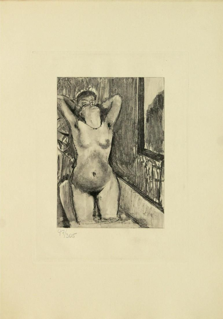 """Edgar Degas (after) - Untitled from """"Mimes des"""