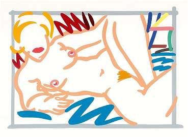 Tom Wesselmann - Judy on a Blue Blanket