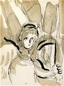 Marc Chagall  Angel with a Sword