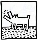 Keith Haring - Untitled (Dog)