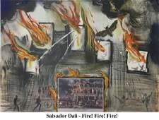 Salvador Dali - Fire Fire Fire