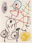 """Joan Miro - One Plate from """"Album 21"""""""