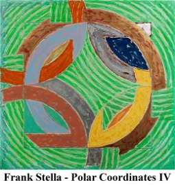 Frank Stella - Polar Coordinates IV