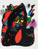 Joan Miro  Lithographie Originale IV Cover