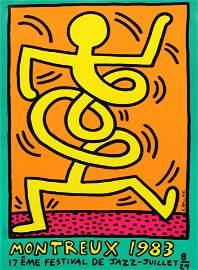 Keith Haring - Montreaux Jazz Festival