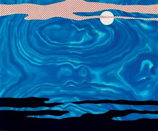 Roy Lichtenstein - Moonscape