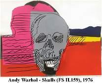 Andy Warhol - Skulls (FS II.159)