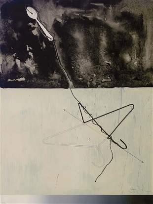 Jasper Johns - Coat Hanger and Spoon
