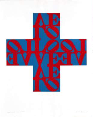 Robert Indiana - Love Cross