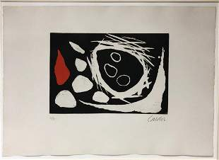 Alexander Calder - Crane Dans le nid