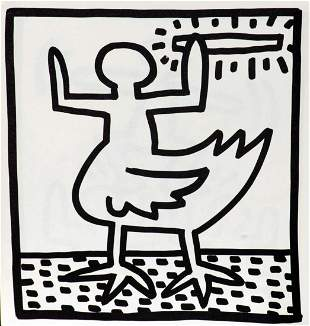Keith Haring - Untitled (Hybrid)