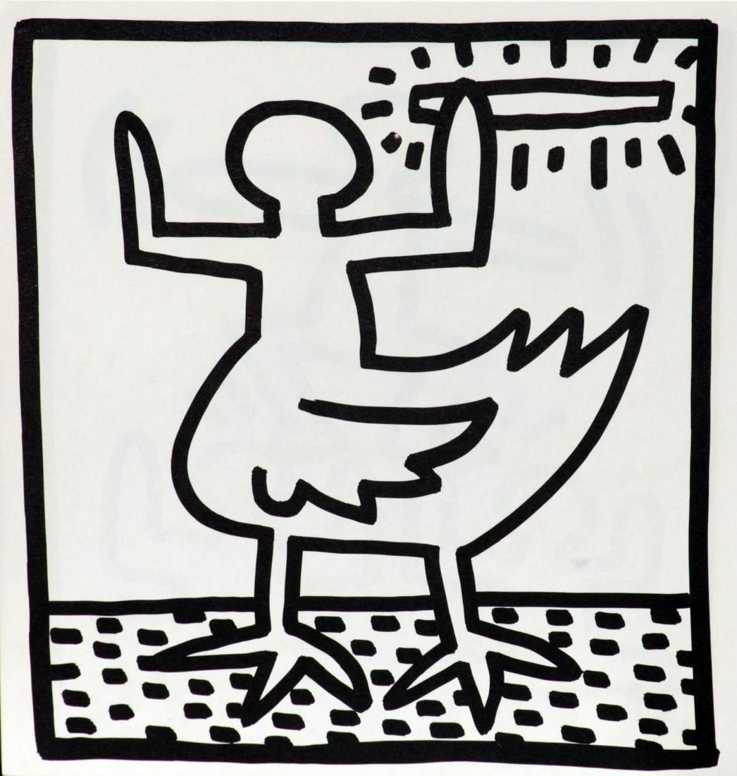 Keith Haring - Untitled (Hybrid)