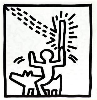 Keith Haring - Untitled (Rider)