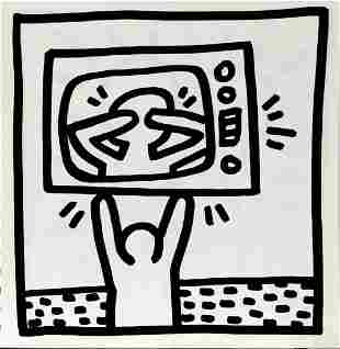 Keith Haring - Untitled (Television)