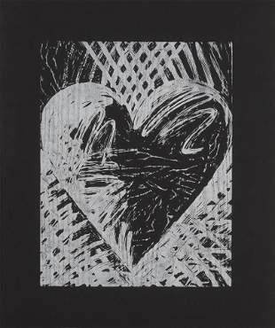 Jim Dine - A Night Woodcut