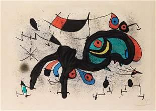 Joan Miro - Le Belier Fleuri