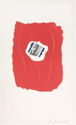 Robert Motherwell - Tricolor 137