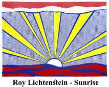 Roy Lichtenstein - Sunrise