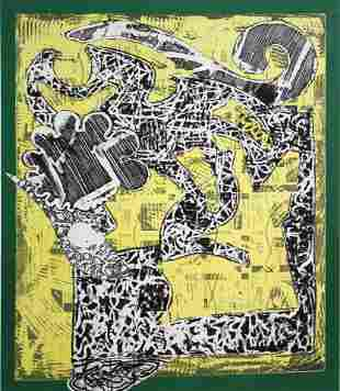 Frank Stella (after) - Green Journal