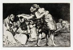 Francisco Goya - Disorderly Folly