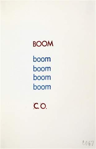 Claes Oldenburg - Boom