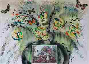 """Salvador Dali - Flowers and Fruits from """"Currier &"""