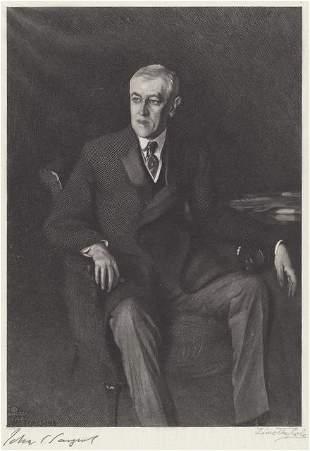Timothy Cole and John Singer Sargent - Portrait of