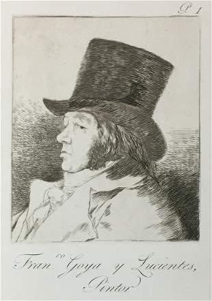 Francisco Goya - Fran. Goya y Lucientes Pintor.