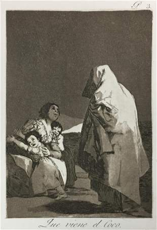 Francisco Goya - Que Viene el Coco