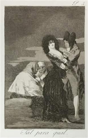 Francisco Goya - Tal Para Qual