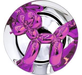 Jeff Koons - Balloon Dog (Magenta)