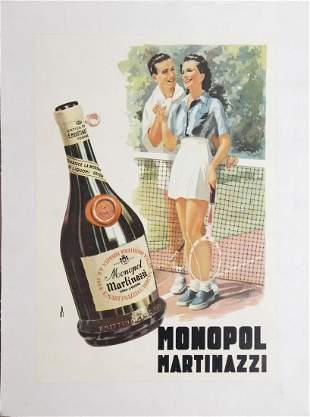 Vintage Poster - Italian Liqour Ad