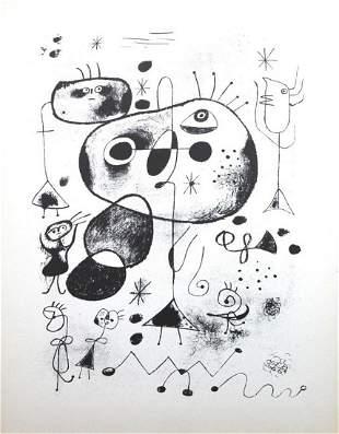 Joan Miro - Lithograph XL