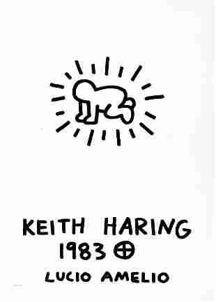 Keith Haring - Radiant Baby (from Lucio Amelio Suite)